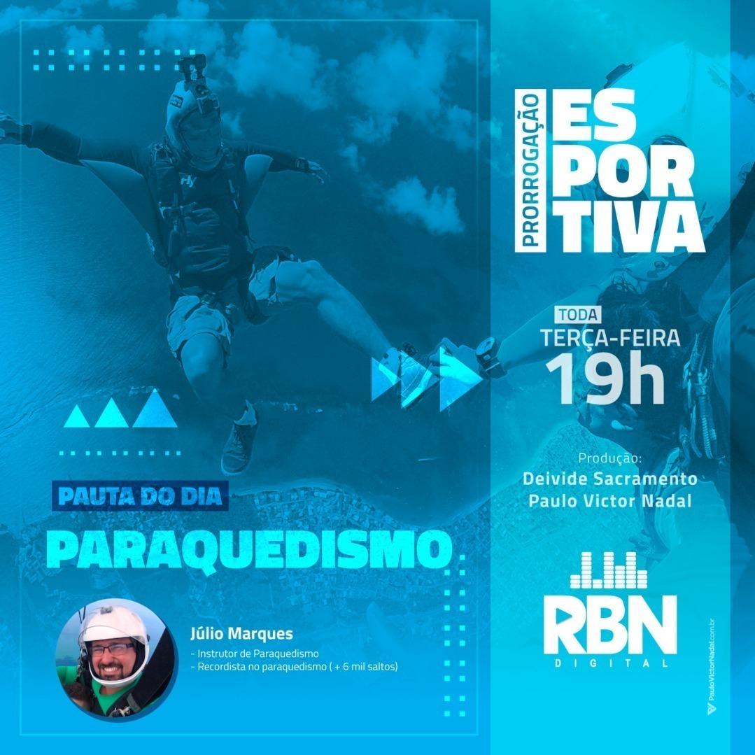 Prorrogação Esportiva #25 Paraquedismo
