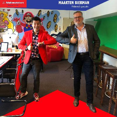 Maarten Bierman in De Relatiemarketing podcast over Pinterest marketing!
