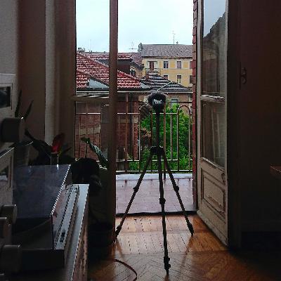 Fuori. Dalla mia finestra #27 - Alec Pace -190420 - Zona San Donato - Torino -  Ore 10PM