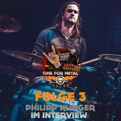 Folge 3 - Philipp Klinger (The New Black, Heavysaurus, Rock Meets Classic, Wacken Radio und mehr) im Interview