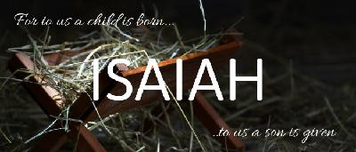 The King is Born - Isaiah 9:6-7 (Audio)