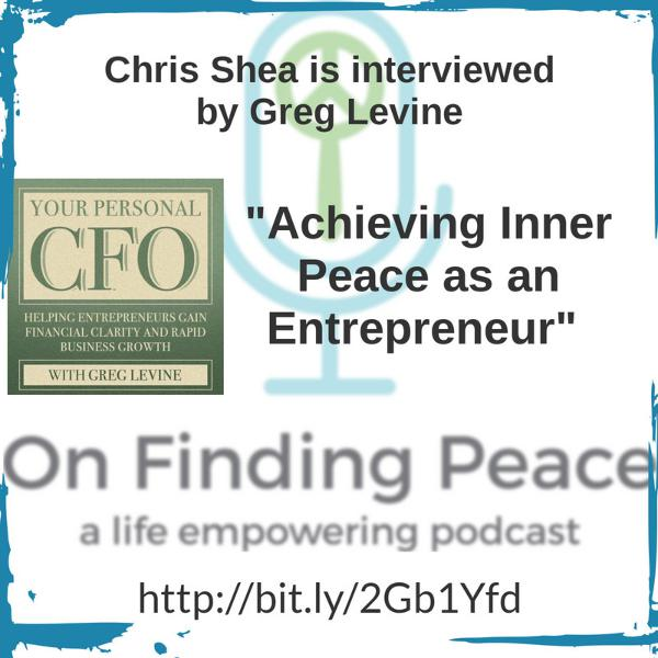 An Interview By Greg Levine - Your Personal CFO