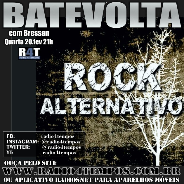 Rádio 4 Tempos - BateVolta 172:Rádio 4 Tempos