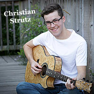 Christian Strutz- Singer and guitarist presented by Countyfairgrounds