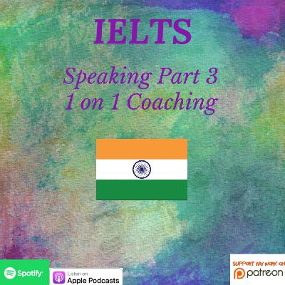 IELTS | Speaking | 1 on 1 Coaching | Speaking Part 3 - Difficult Jobs & Personal/Career Success