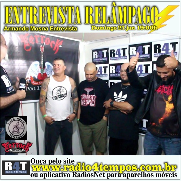 Rádio 4 Tempos - Entrevista Relâmpago 58