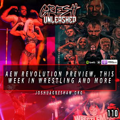 AEW Revolution 2021 Preview and Predictions, This Week In Wrestling and more   110