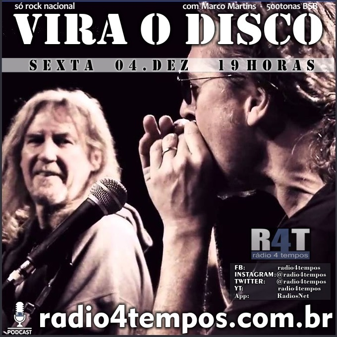 Rádio 4 Tempos - Vira o Disco 82:Marco Martins