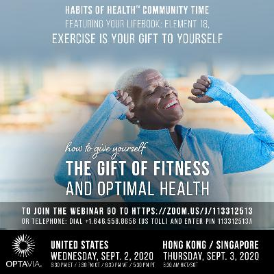 Your LifeBook, Element 18: Exercise is Your Gift to Yourself