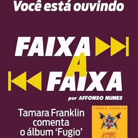 Tamara Franklin apresenta Fugio