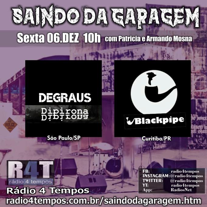 Rádio 4 Tempos - Saindo da Garagem 07:Rádio 4 Tempos