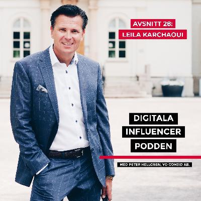28. Leila Karchaoui, medgrundare Bygg Broar – hur mår Sverige? Human hållbarhet för ett hållbart samhälle
