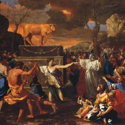 The Worship of the Golden Calf – The Congregation at Prayer for September 8, 2020