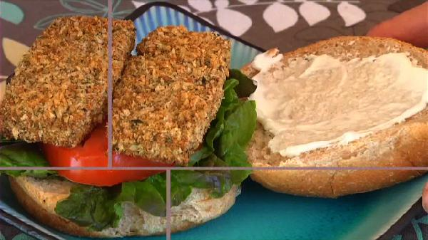 Tofu Phish Fillet Sandwiches