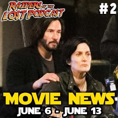 Movie News # 2 - The Batman, Loki, Aquaman, Lord of the Rings, John Wick 4, The Matrix 4, Mike Myers and The Sandman...