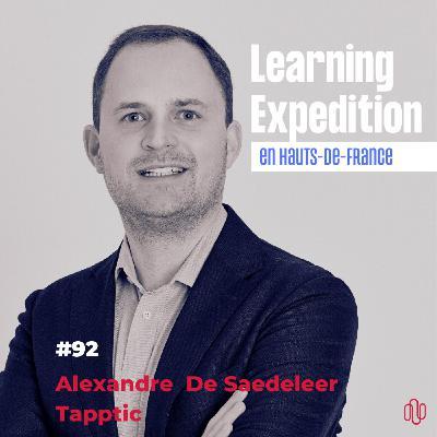 #92 - Alexandre De Saedeleer /// De champion de Hockey sur gazon à CEO d'une agence digitale européenne - Agence Tapptic