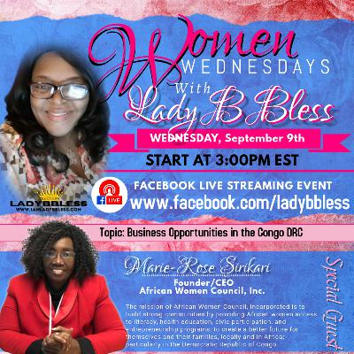 #9 September 9, 2020 - (Marie-Rose Sirikari) Women Wednesdays