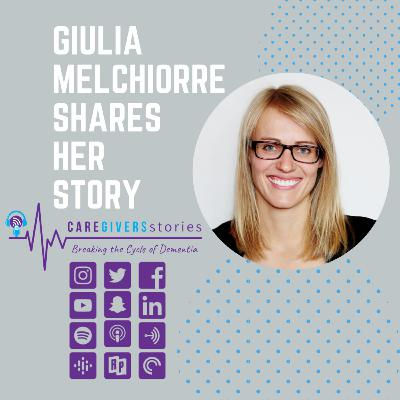Caregivers Stories: Giulia Melchiorre shares her story and how Cogni Health helps caregivers