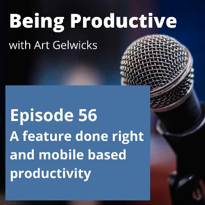 A Feature Done Right in Any.do and The Mobile Only Experiment - Ep 56