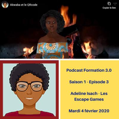 Teaser Episode 3 - Adeline Isach : Faire de ce temps de formation à distance quelque chose de magique !