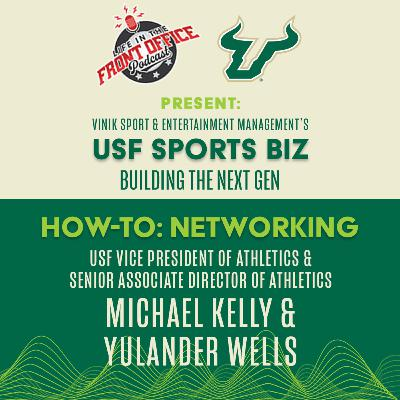 Networking with Michael Kelly & Yulander Wells, USF Vinik S&E