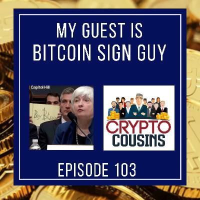 Conversation With Bitcoin Sign Guy