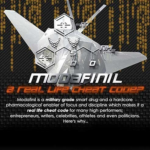 Is Modafinil a real life cheat code? The ultimate lifehack revealed...