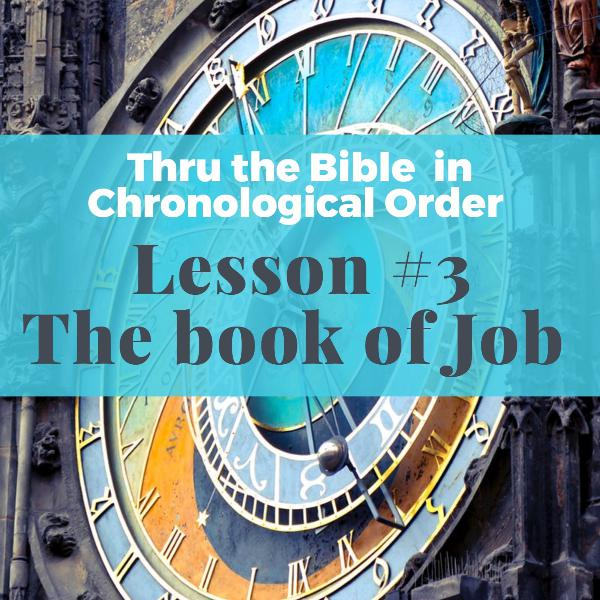 #3--Book of Job, answers to the Big Questions