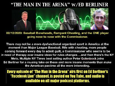 Peter Golenbock: Baseball Cheats & Owner Controlled Commish Nothing New
