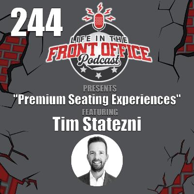 Premium Seating Experiences with Tim Statezni, Las Vegas Raiders
