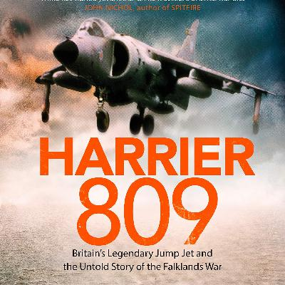 'Harrier 809' with Rowland White