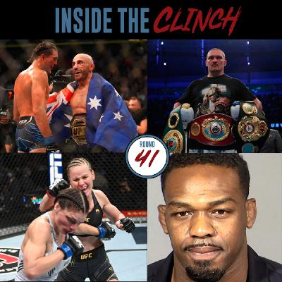 Round 41 - UFC 266 Results, Usyk Defeats Joshua, Jon Jones Arrested Again & More!