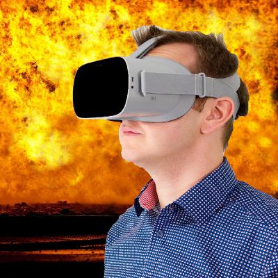 Firefighter Training Using Virtual Reality Goggles with Rick Clarke