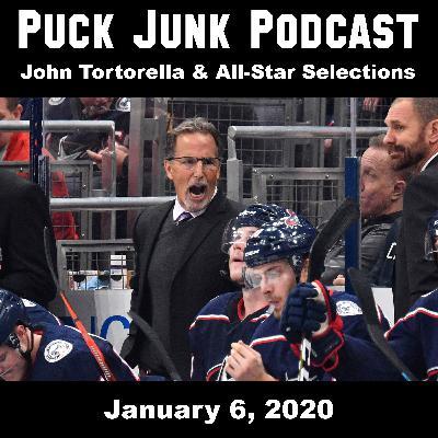 John Tortorella & All-Star Game Selections   #40   1/6/2020