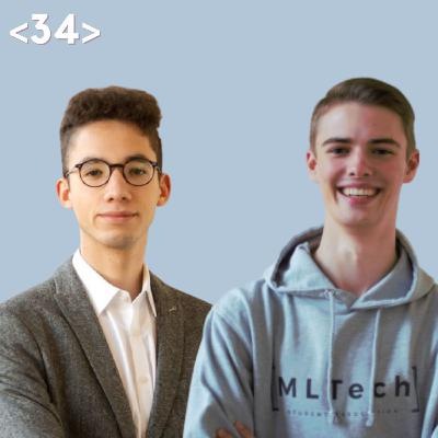 <34> 20 Minuten mit Munich Legal Tech (MLTech) I Wir stellen die studentischen Legal Tech-Initiativen vor. 👋🏼