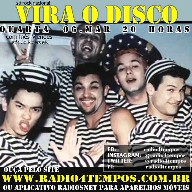 Rádio 4 Tempos - Vira o Disco 39:Rádio 4 Tempos