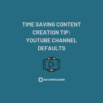 Episode 295: How To Save Time Publishing YouTube Videos By Using Default Channel Settings