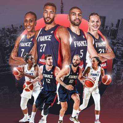 Jeux Olympiques 2020 - Le basket français double-médaillé