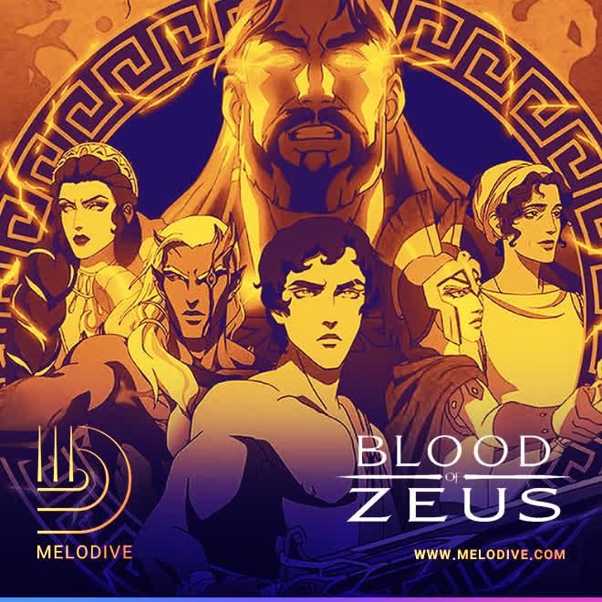 گپ دایو قسمت (63) | بررسی انیمیشن آمریکایی Blood of Zeus