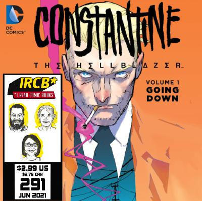 Episode 291 | Goodreads Book of the Month – Constantine: The Hellblazer Vol. 1