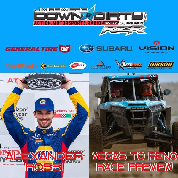 #349 - Alexander Rossi and a Vegas to Reno Preview