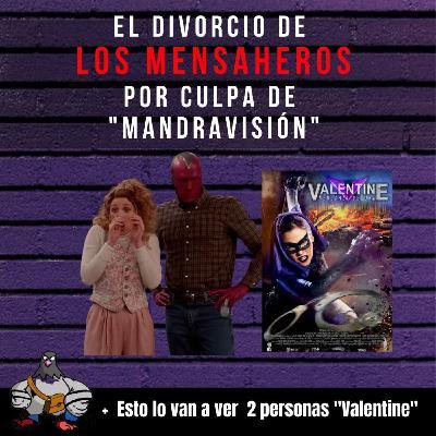 El divorcio de @losmensaheros por culpa de Mandravisión #wandavision