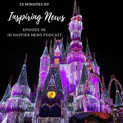 Disney's Bedtime Hotline, Bachelorette Party Turns Into Relief Mission, and More Happy News