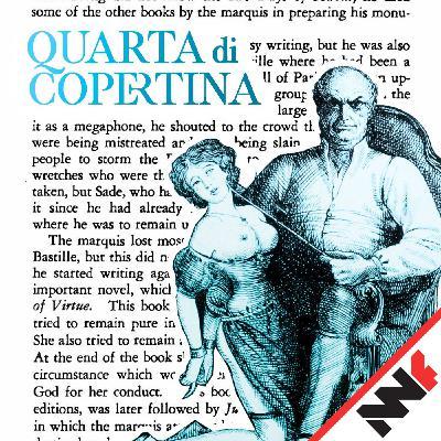 Il matrimonio del marchese de Sade – Quarta di Copertina