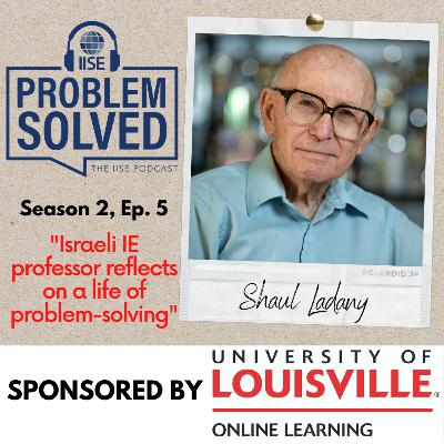 Israeli IE professor reflects on a life of problem-solving