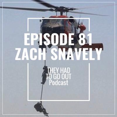 Episode 81: Zach Snavely - ME2 - MSRT - BM - Coxswain - Deck Force - Defense Contractor