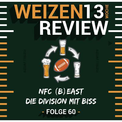 NFC (B)East die Division mit Biss   Weizenreview Woche 13   S2 E60   NFL Football