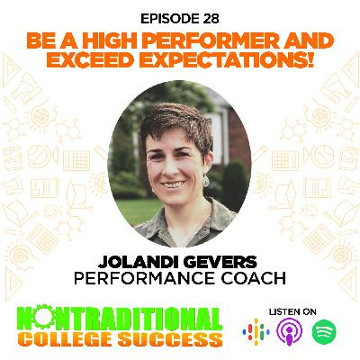 High Performance and Exceeding Expectations! with Jolandi Gevers. Ep. 28