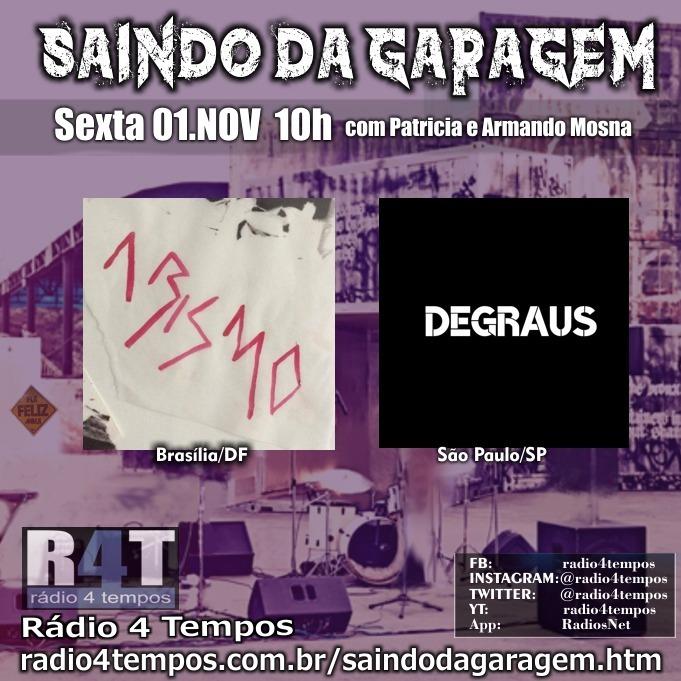 Rádio 4 Tempos - Saindo da Garagem 03:Rádio 4 Tempos