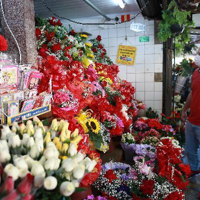 Mercado de flores despenca em período de quarentena